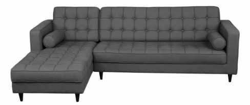 Attrayant Where To Buy Modern Grey Sofa With Chaise