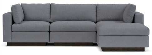 High Quality Where To Buy Modern Grey Sofa With Chaise