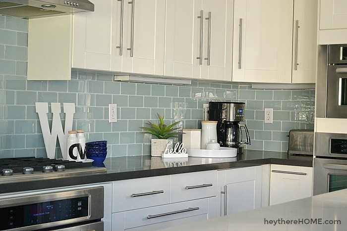 modern white kitchen remodel