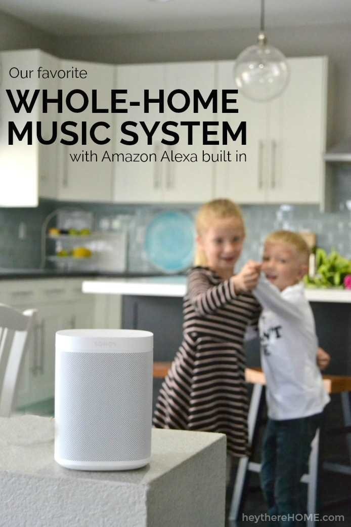 Our favorite whole-home music system with Amazon Alexa built in