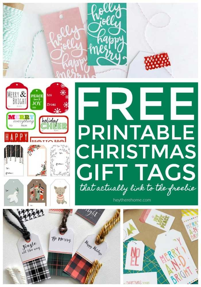 photo about Free Printable Gift Tags Christmas titled A great deal of No cost Printable Xmas Reward Tags