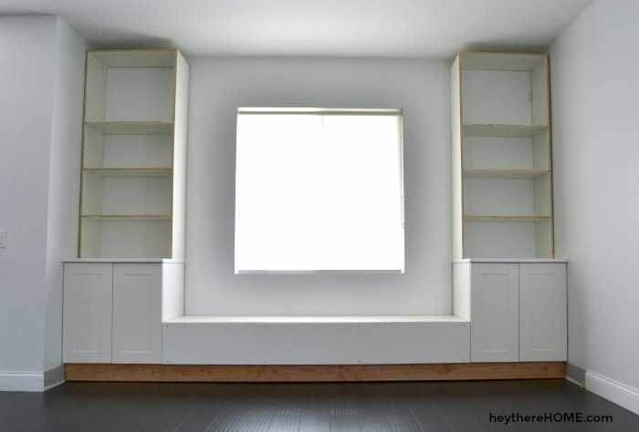 diy built in bookshelves - Built In Bookshelves Diy