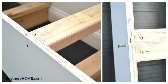 DIY built ins bench seat or window seat