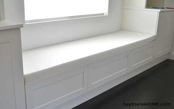 how to make a bench seat cushion