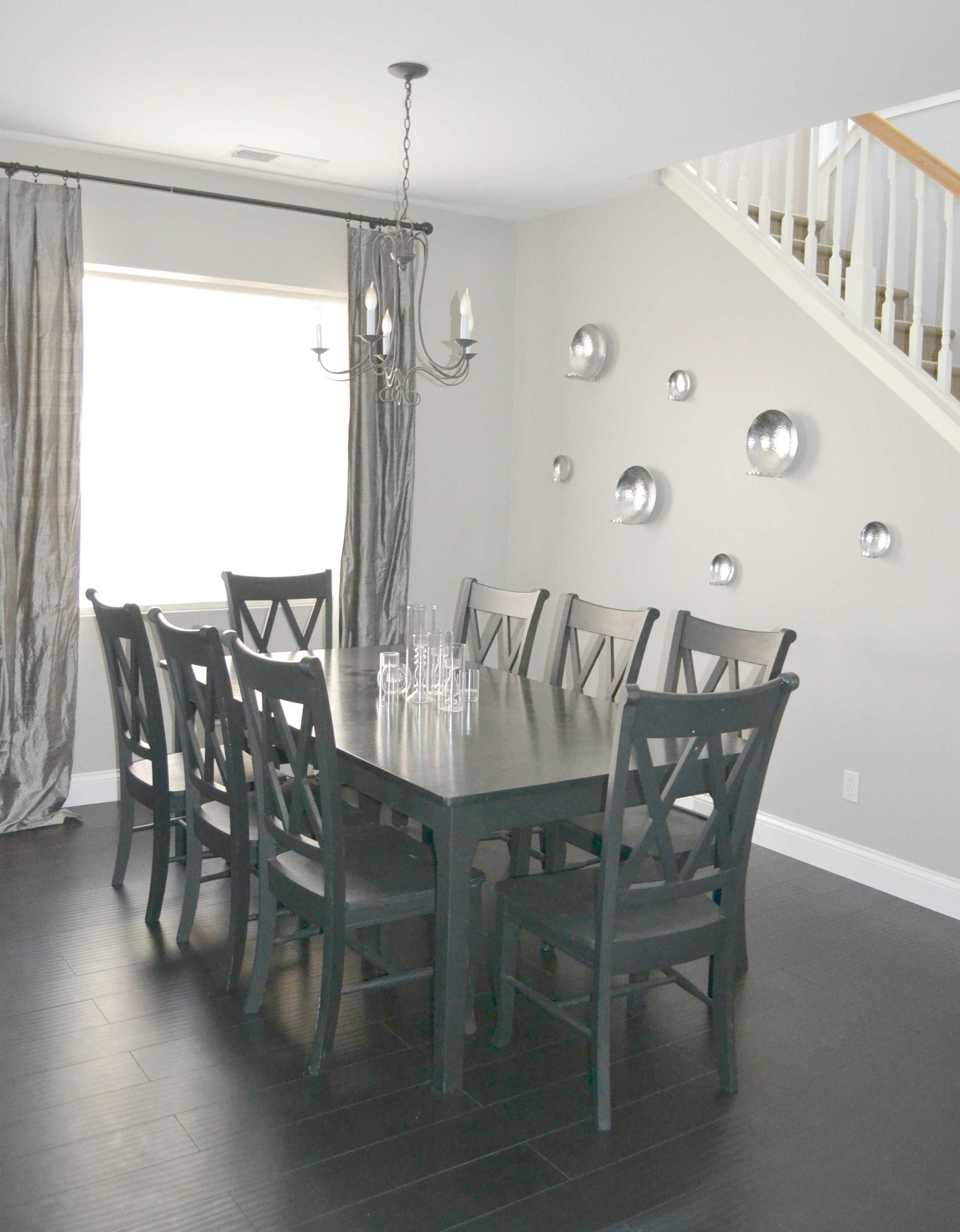 dining room reveal before no marks
