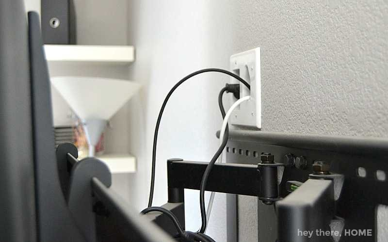 kit to hide TV cords in the wall
