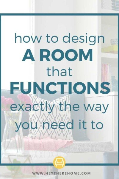 design a functional room