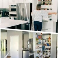 How to create a built in pantry