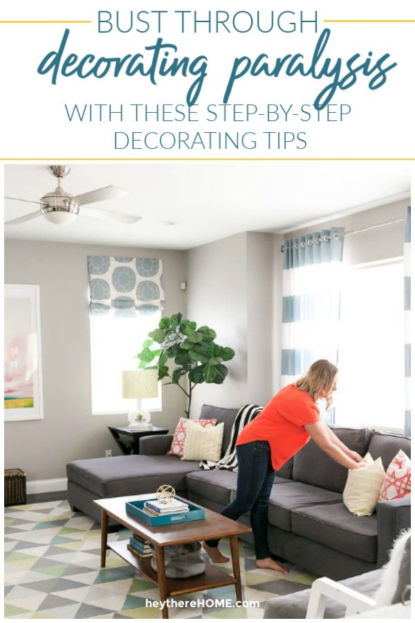 top decorating tips and tutorials from Hey There Home