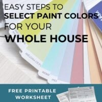 Select Paint Colors for your Whole House