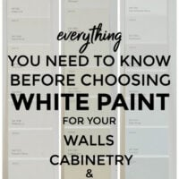 How to choose paint for walls cabinets and trim