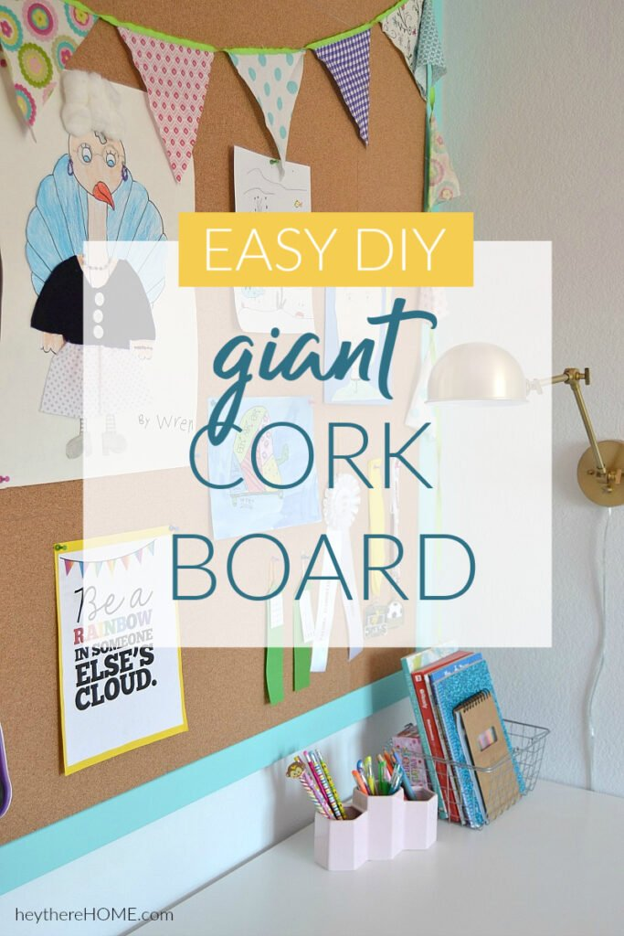 large cork board tutorial