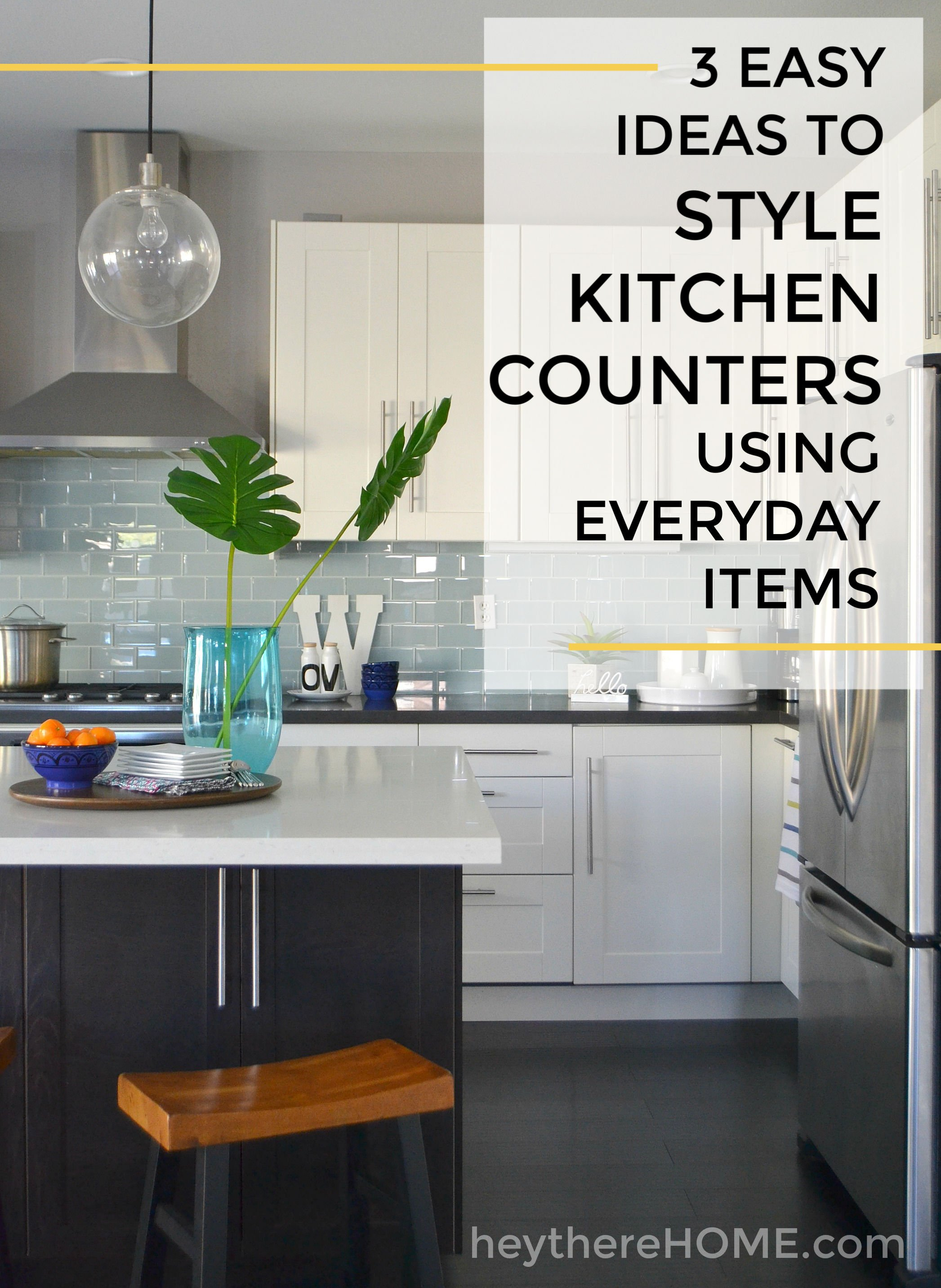 Easy Kitchen Counter Decor Ideas Without The Clutter