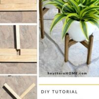 easy plant stand plans