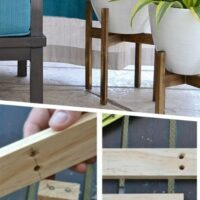 outside plant stands diy