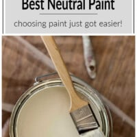 how to pick the best neutral paint