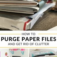 How to Purge Paper Files