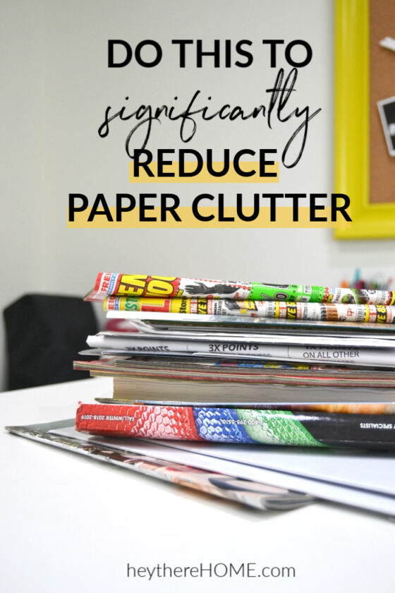 Significantly Reduce Paper Clutter With These Easy Tips