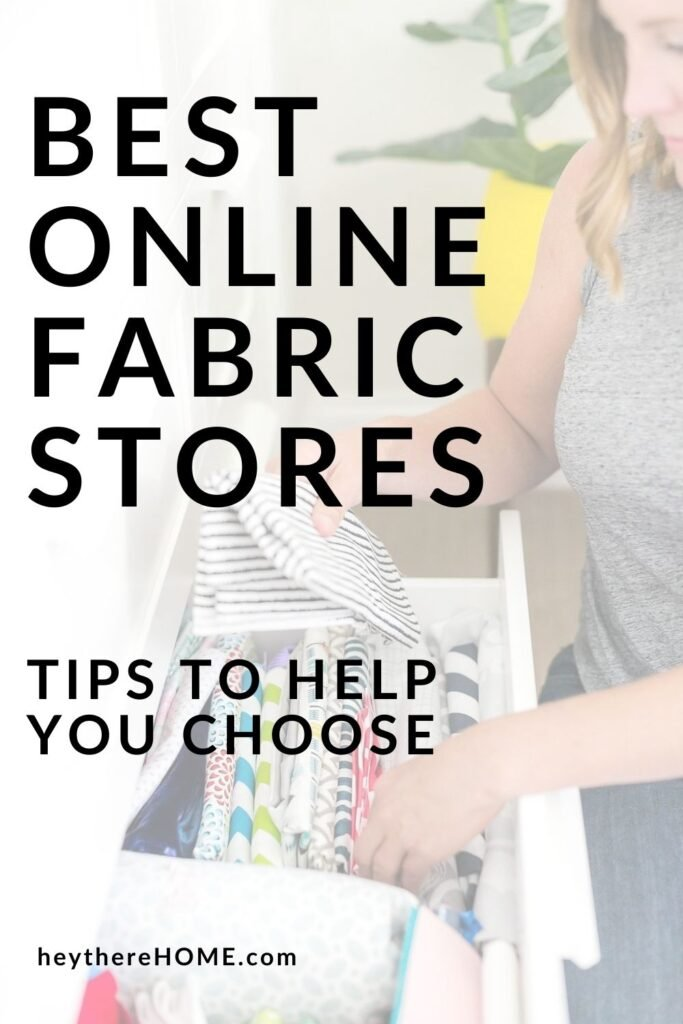 sewing resources Best online fabric stores