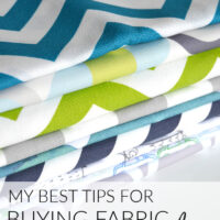 My best tips for buying fabric online