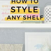 How to style any shelf