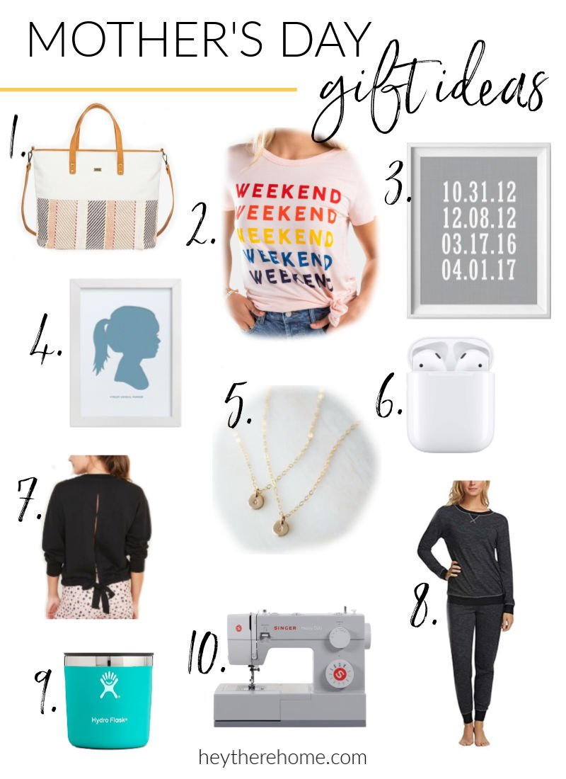 Mother's Day Gift Ideas – A few of my favorite things