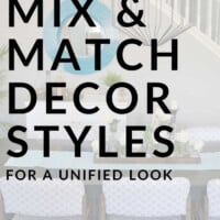 how to mix decor styles