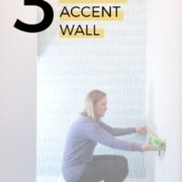 3 steps to an accent wall