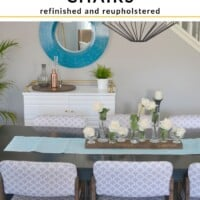 Tutorial Upcycled Dining Chairs