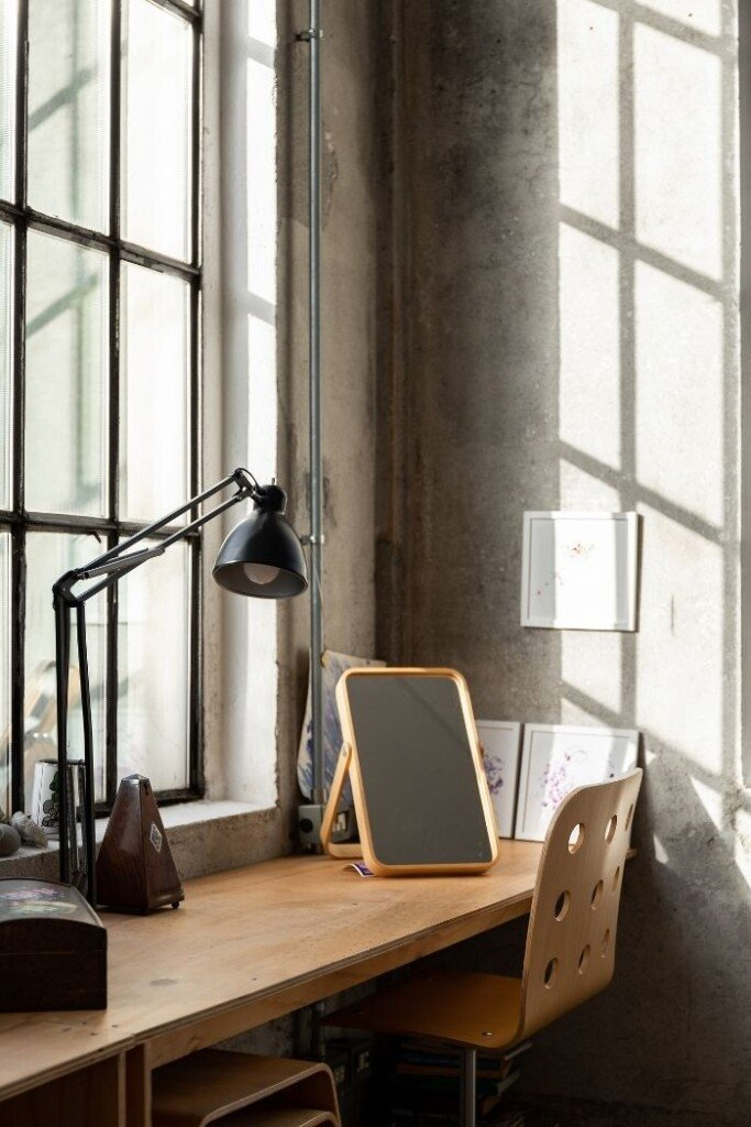 how to decorate industrial style