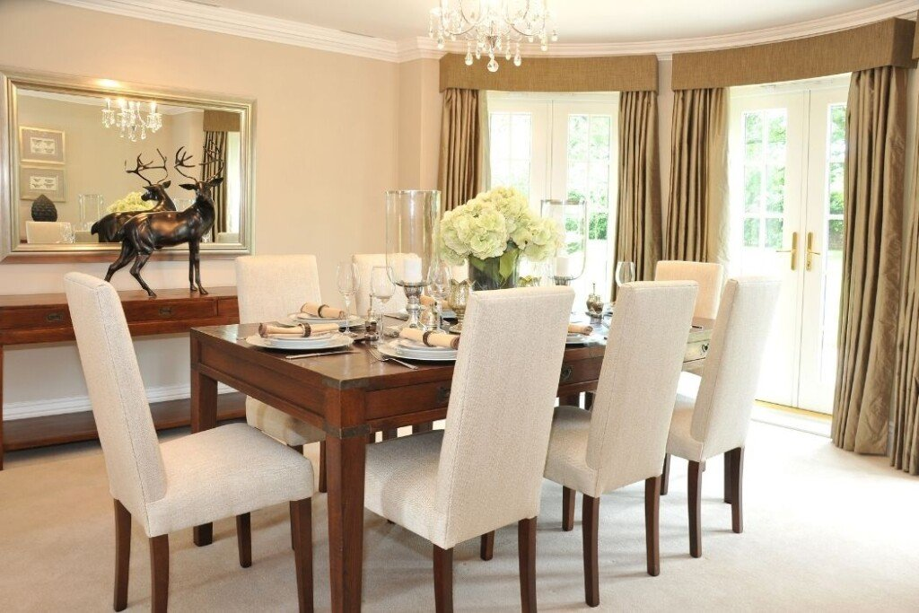traditional classic style dining room