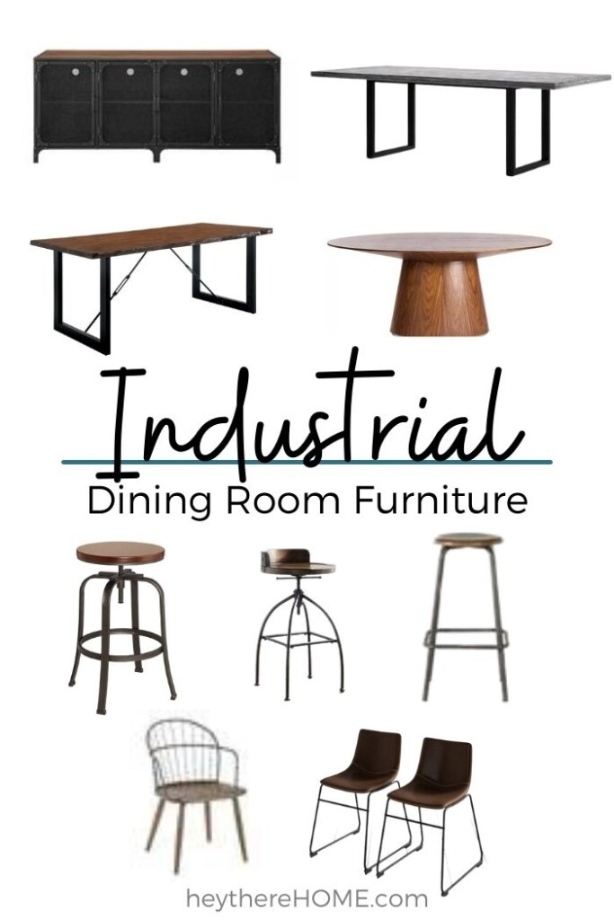Industrial Dining Room Furniture