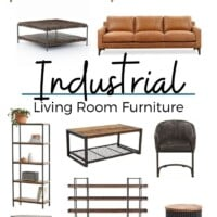 Industrial Living Room Furniture