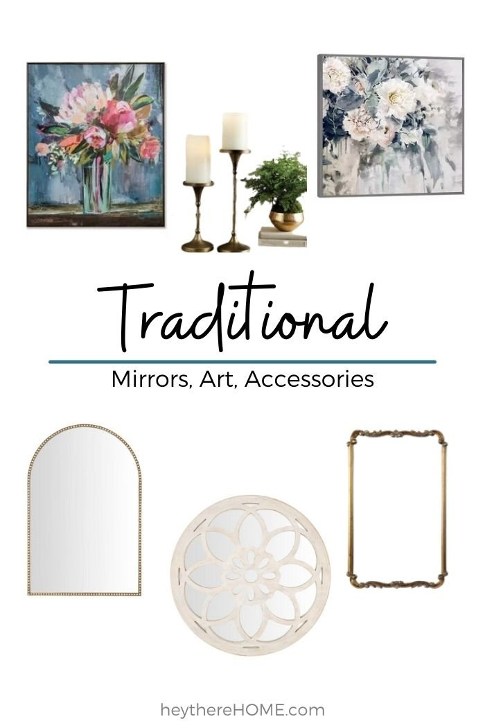Traditional home decor sources