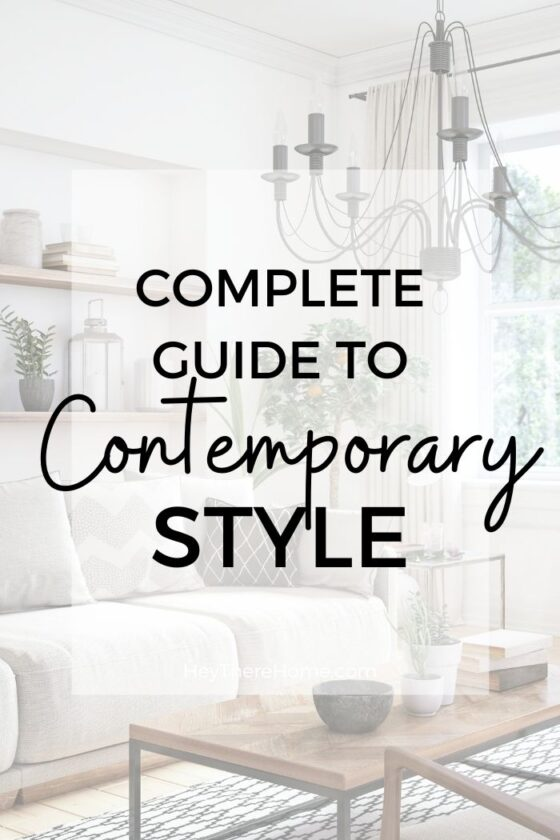Contemporary Interior Design Style Guide
