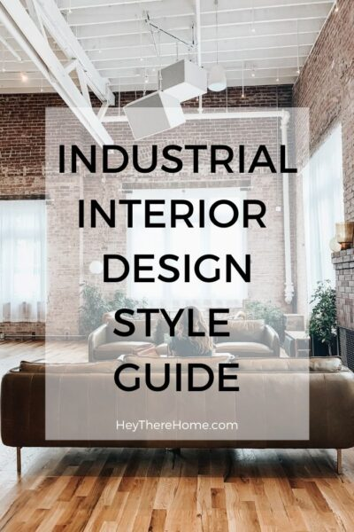 What is industrial design style?