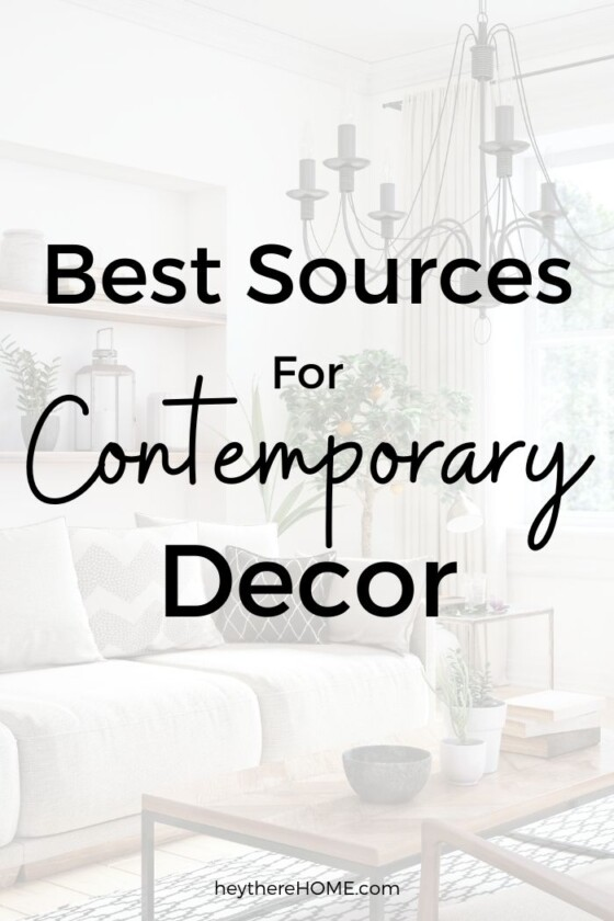 Where To Buy Contemporary Home Decor