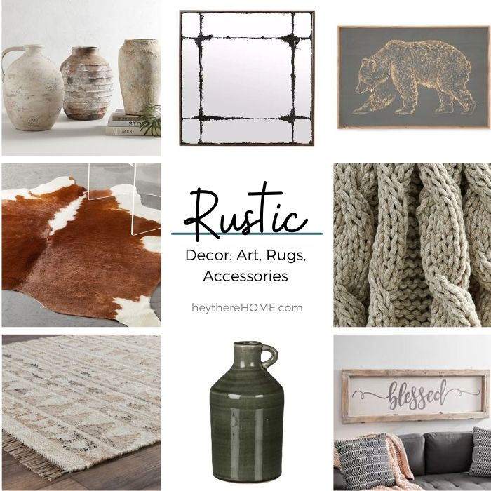 Where to buy rustic decor