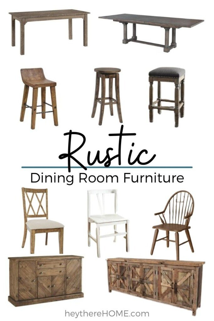 Where To Buy Rustic Dining Room Furniture
