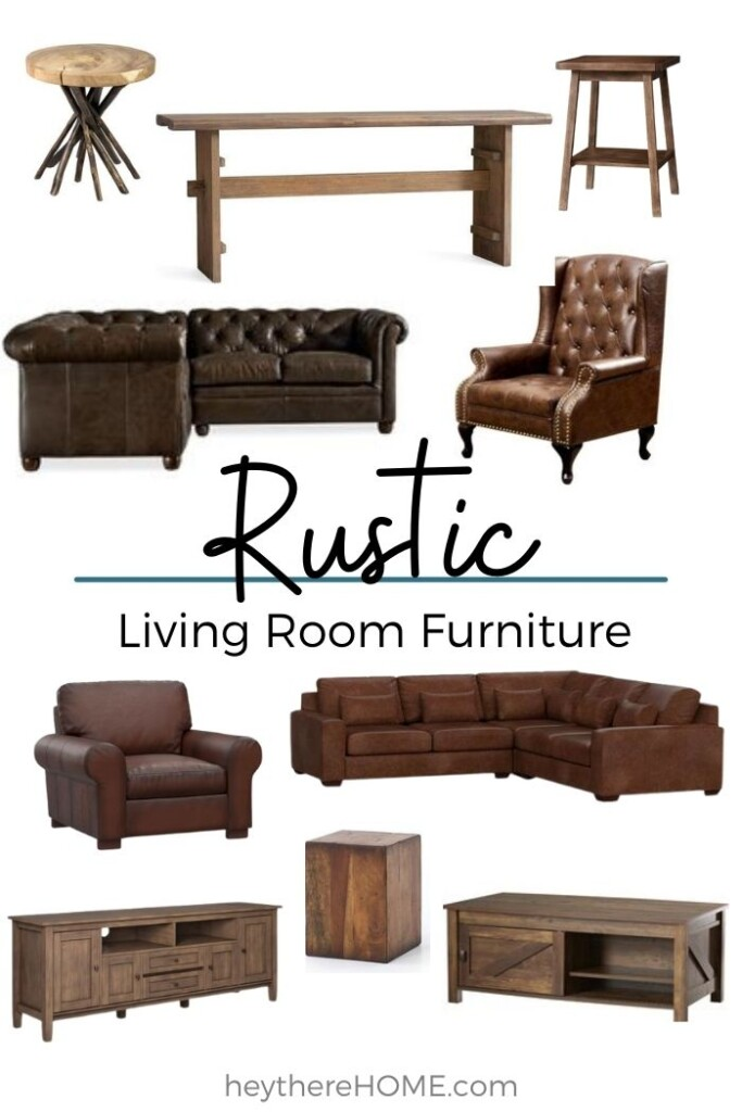 Where to buy rustic living room furniture.