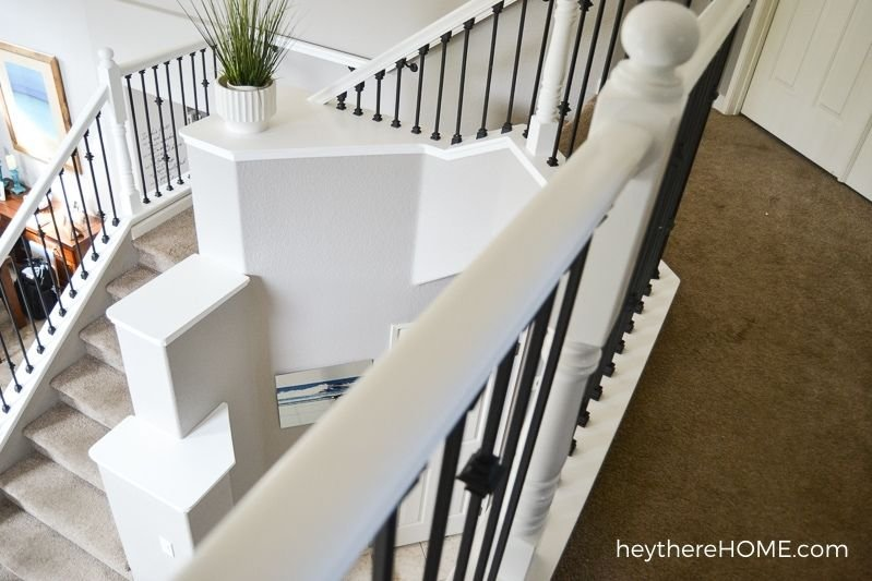 capped stair ledges