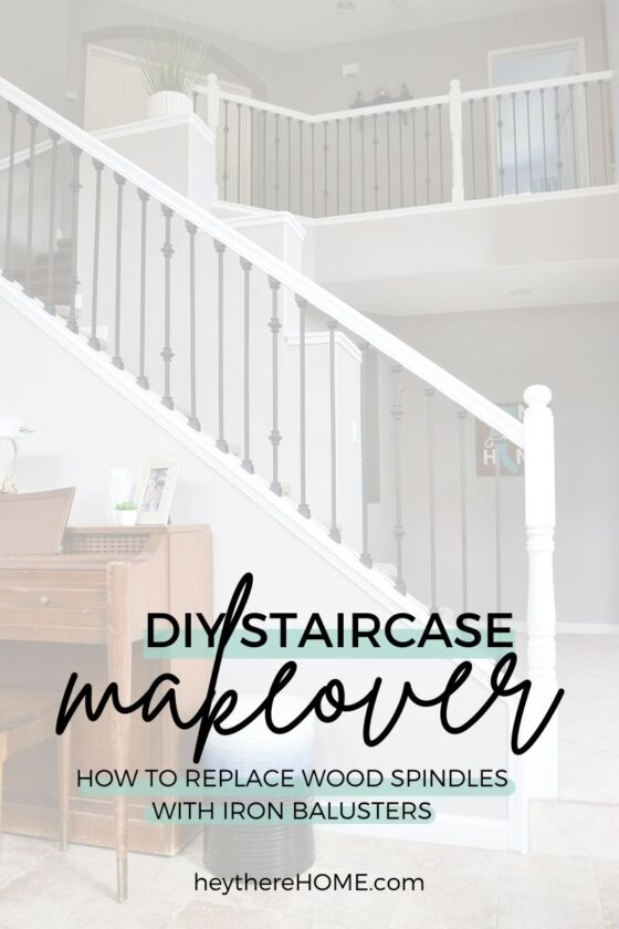 Replacing Stair Balusters – An Easy DIY Staircase Makeover