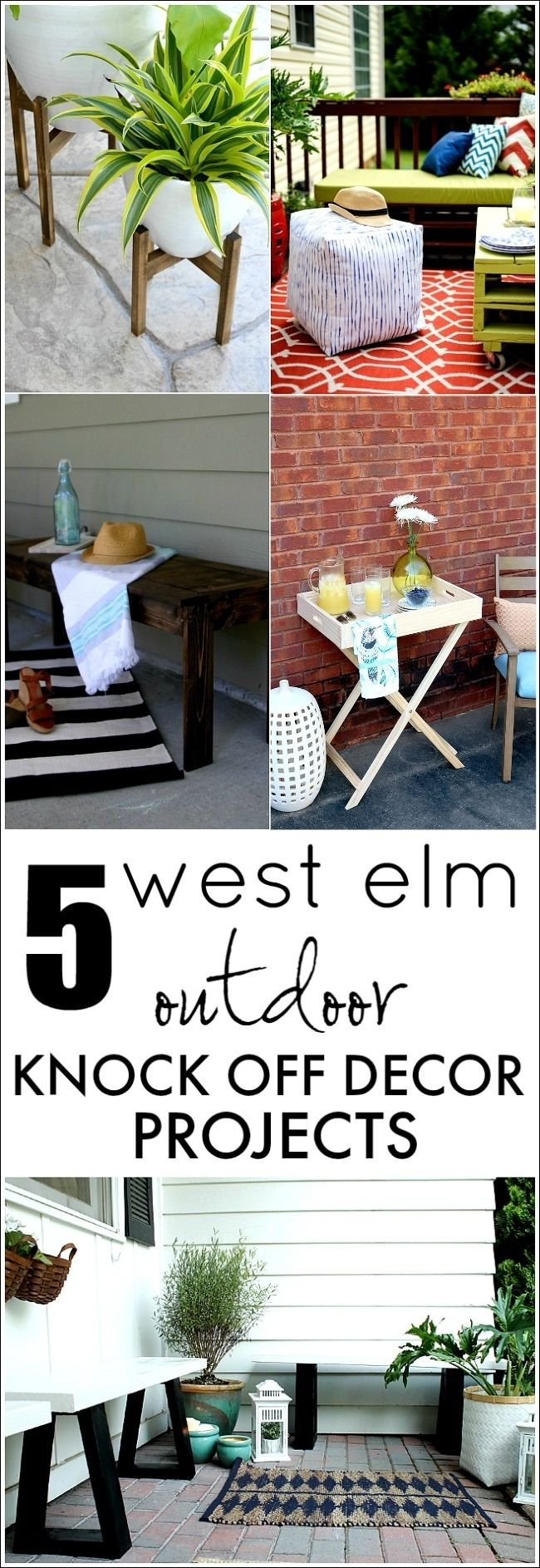 West Elm knockoff diy projects