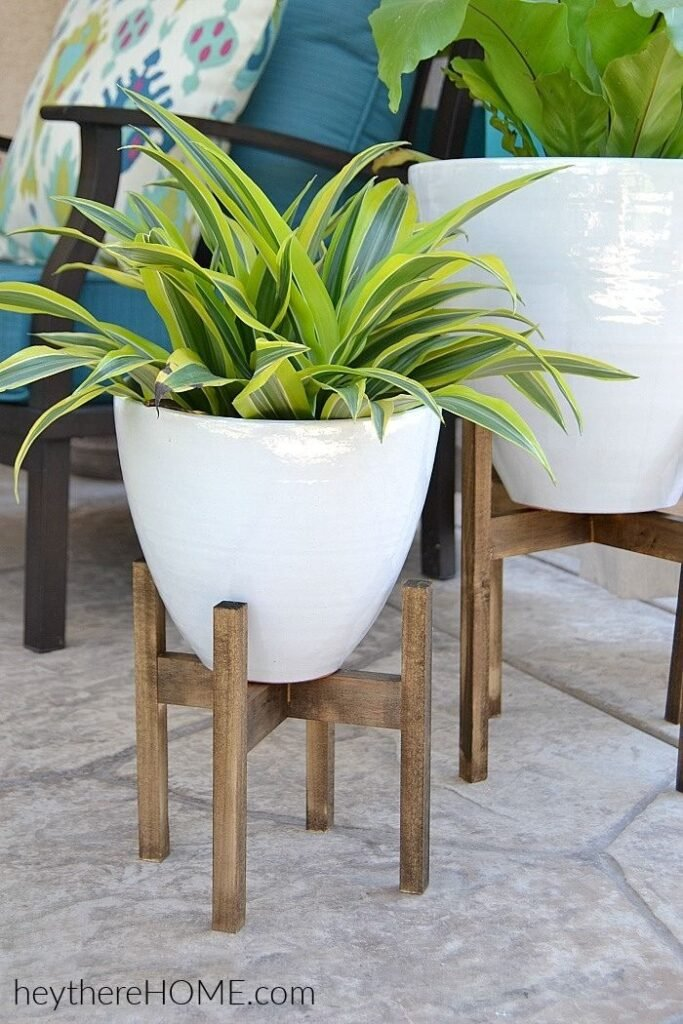 West Elm plant stand knockoff