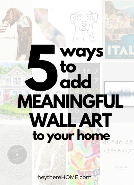 5 Personalized Wall Art Ideas That Aren't Tacky